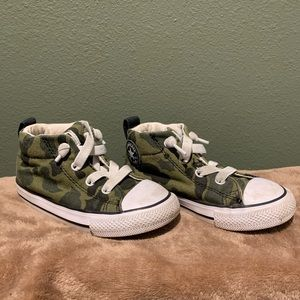 Toddler Camouflage Converse